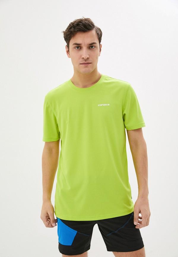 мужская спортивные футболка icepeak, зеленая