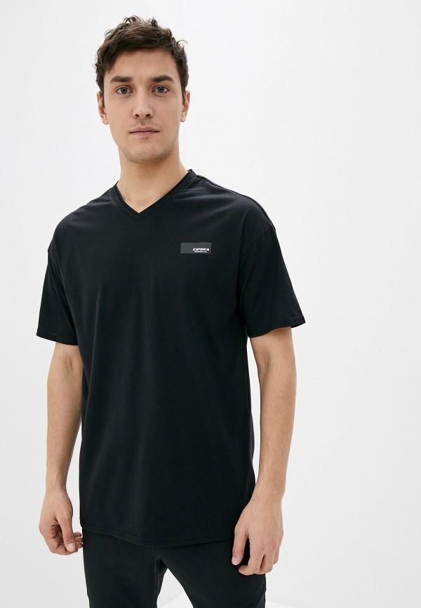 мужская спортивные футболка icepeak, черная