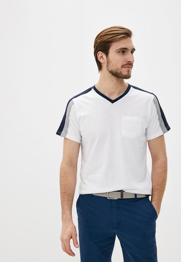 мужская спортивные футболка icepeak, белая