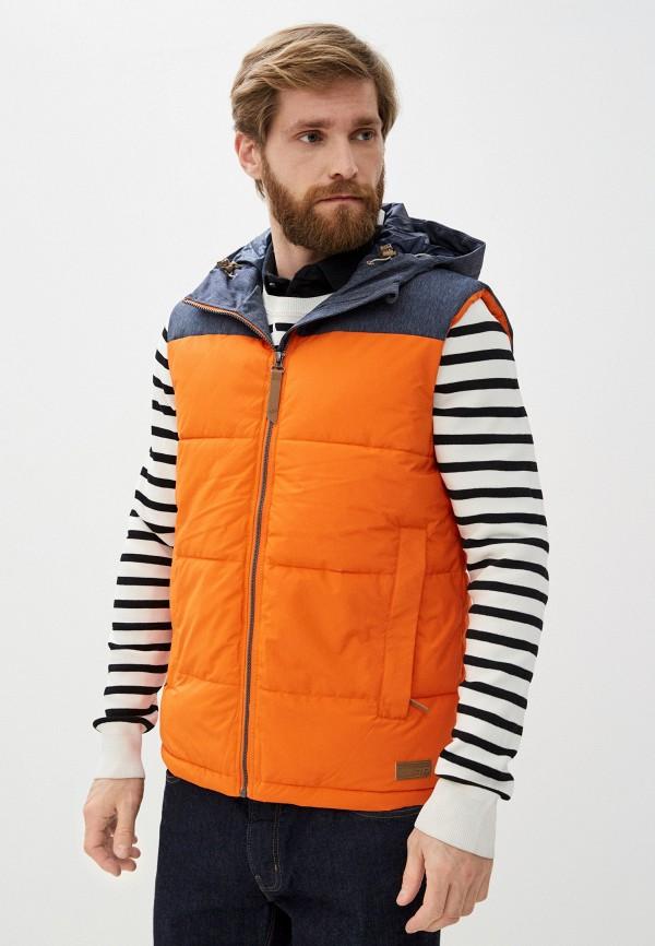 мужской жилет icepeak, оранжевый