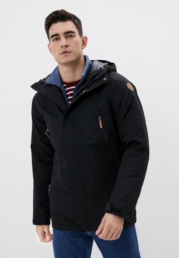 мужская куртка icepeak, черная