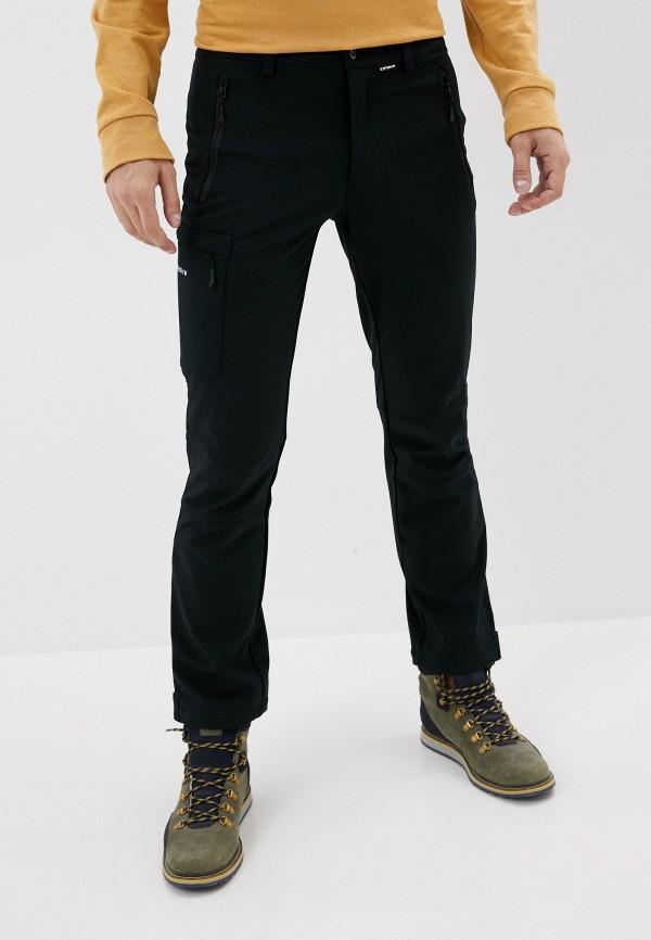 мужские брюки icepeak, черные