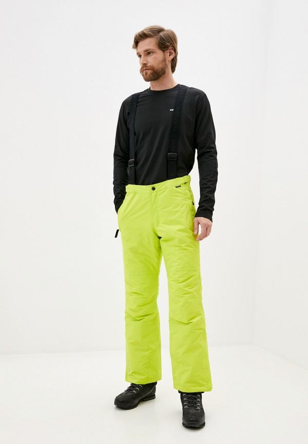 мужские брюки icepeak, желтые