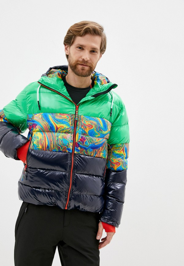 мужская куртка icepeak, разноцветная