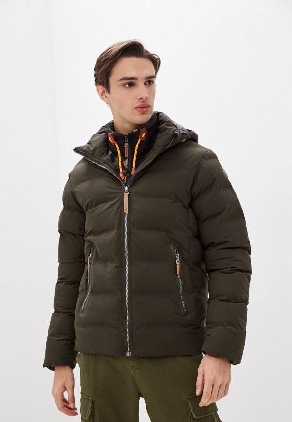 мужская куртка icepeak, зеленая