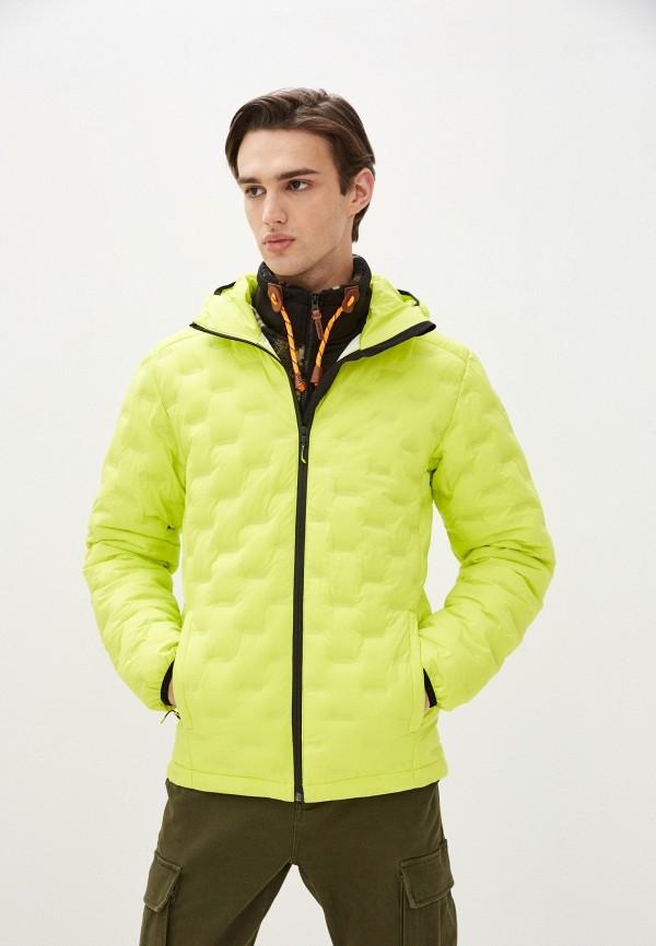 мужская куртка icepeak, желтая