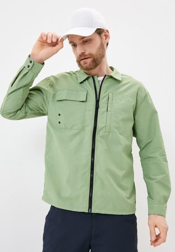 мужская рубашка icepeak, зеленая