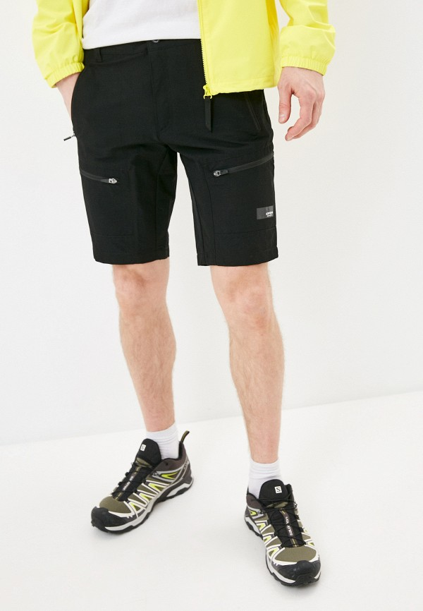 мужские шорты icepeak, черные