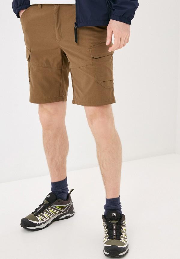 мужские шорты icepeak, коричневые