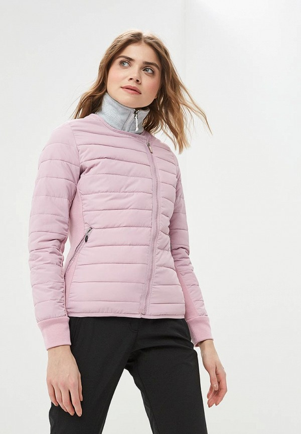 женская куртка icepeak, розовая