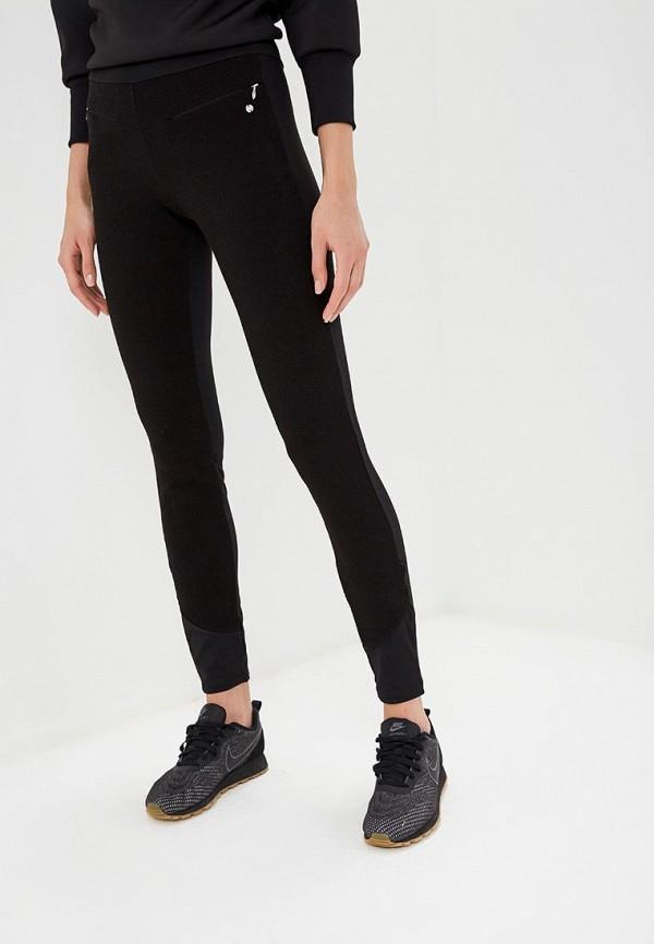 женские спортивные спортивные брюки icepeak, черные