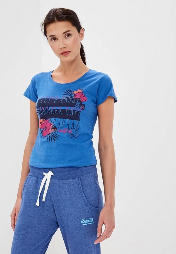 Футболка Icepeak Icepeak IC647EWEUID1 футболка мужская icepeak цвет темно синий 757723689iv 390 размер m 50