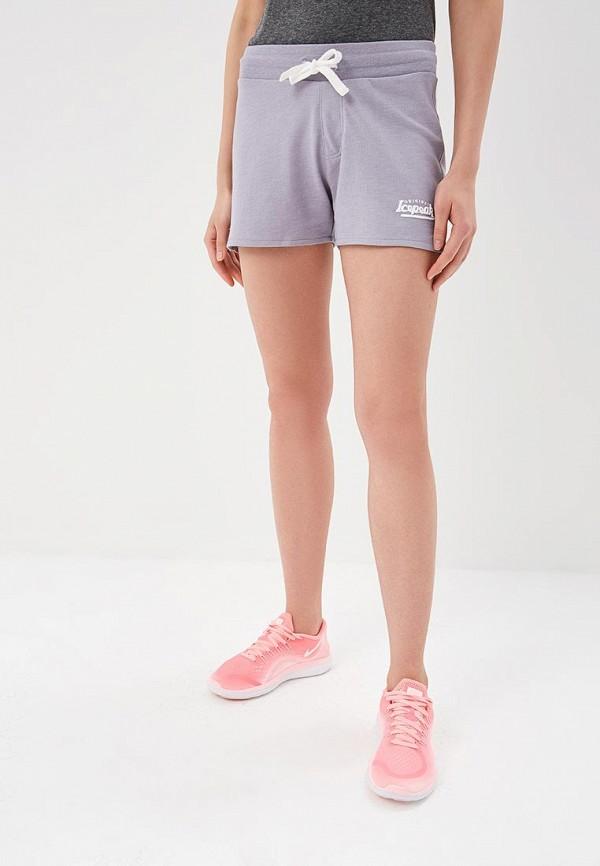 женские спортивные спортивные шорты icepeak, фиолетовые