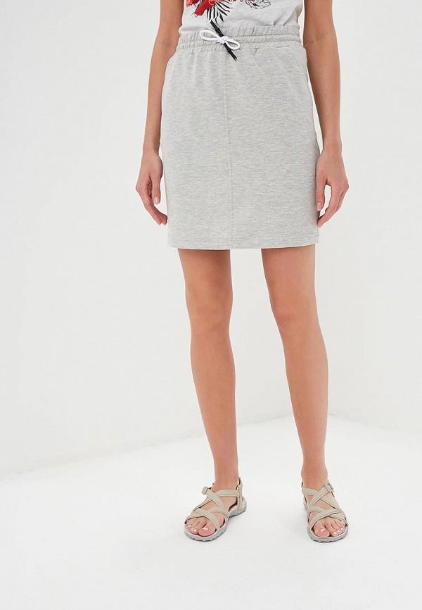 женская спортивные юбка icepeak, серая