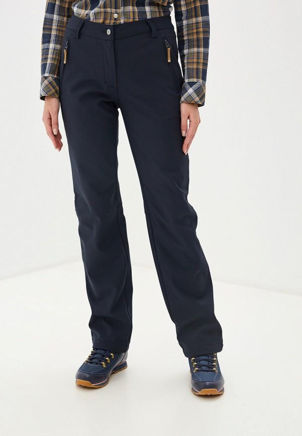 женские спортивные брюки icepeak, синие