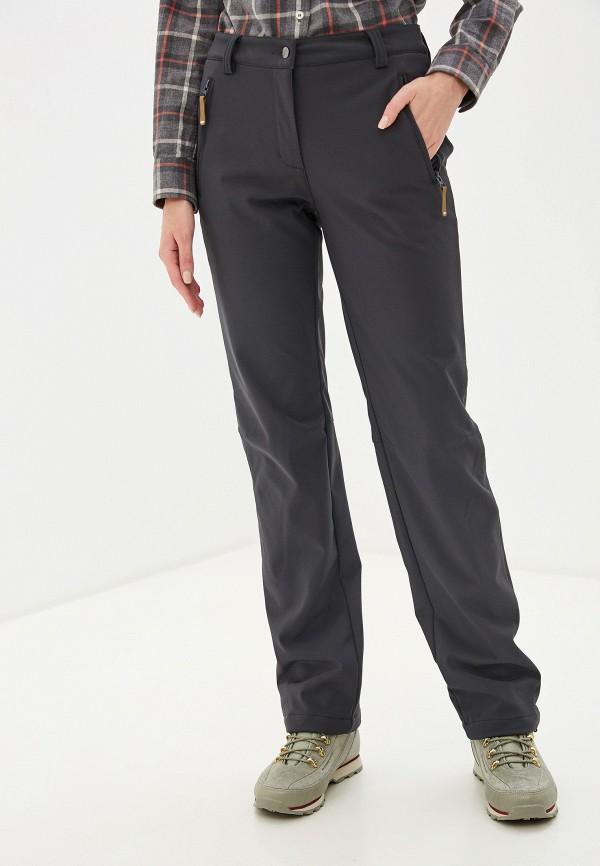 женские спортивные брюки icepeak, серые