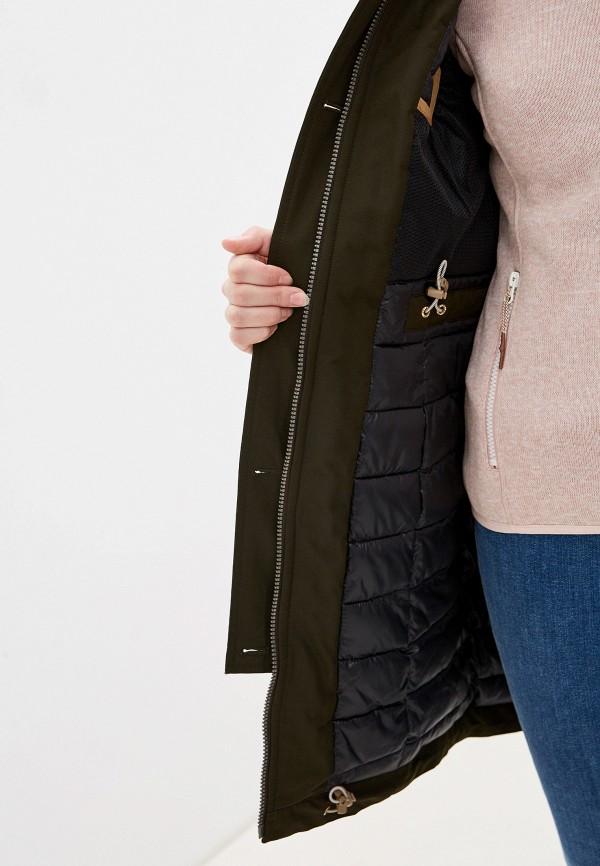 Фото 4 - Куртку утепленная Icepeak цвета хаки