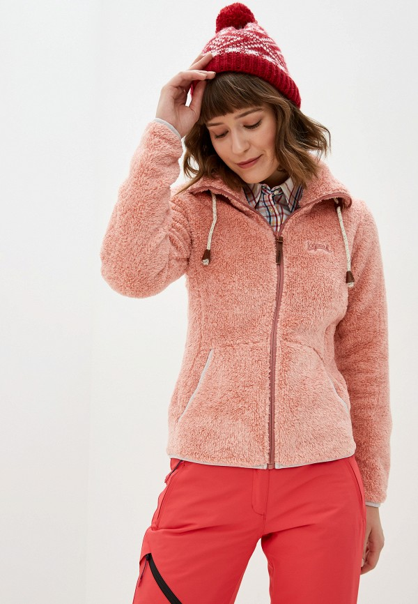 женская олимпийка icepeak, розовая
