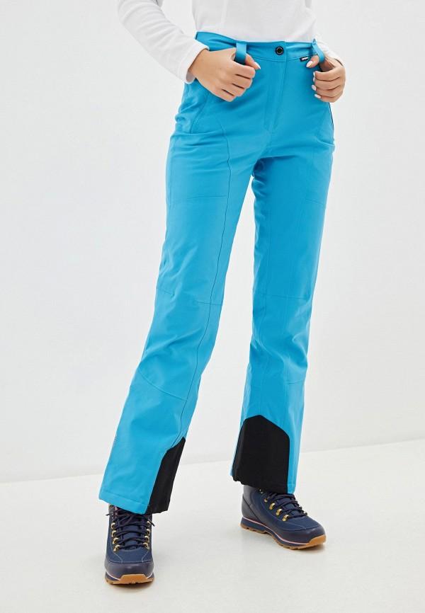 женские брюки icepeak, голубые