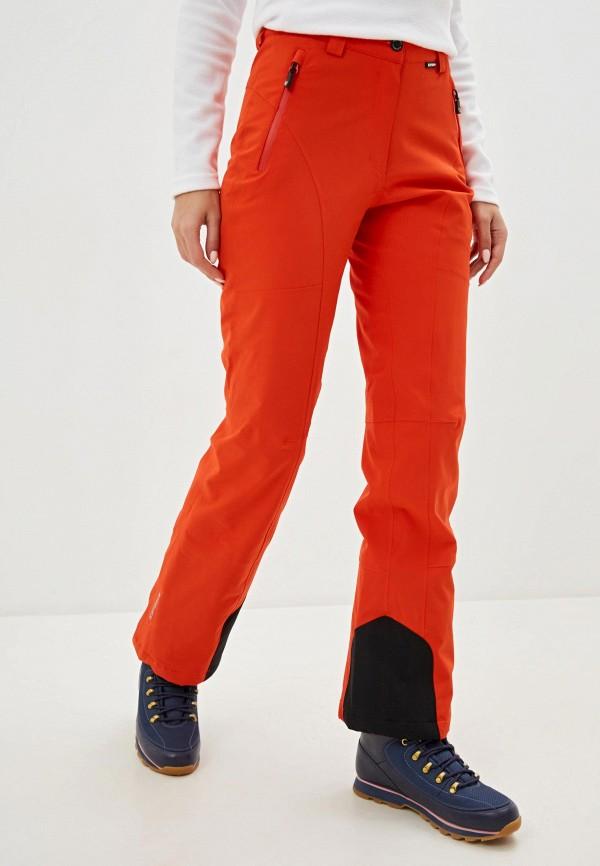женские брюки icepeak, оранжевые