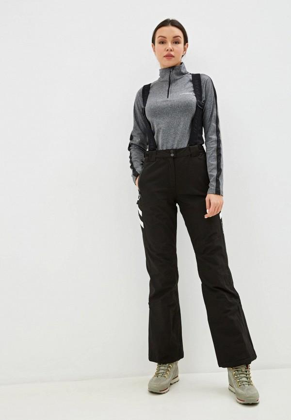 женские брюки icepeak, черные