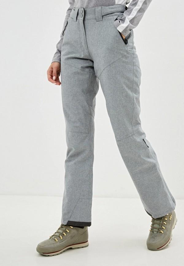 женские брюки icepeak, серые