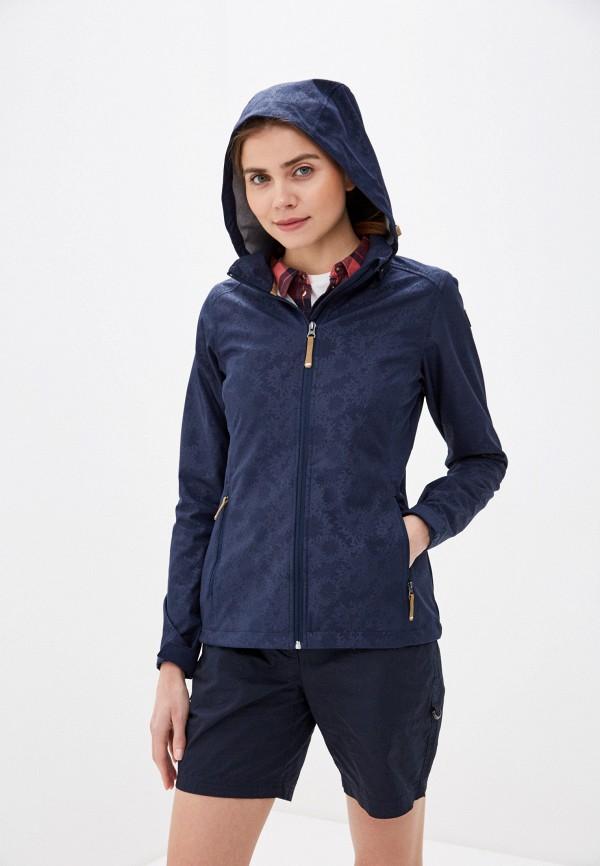 женская куртка icepeak, синяя