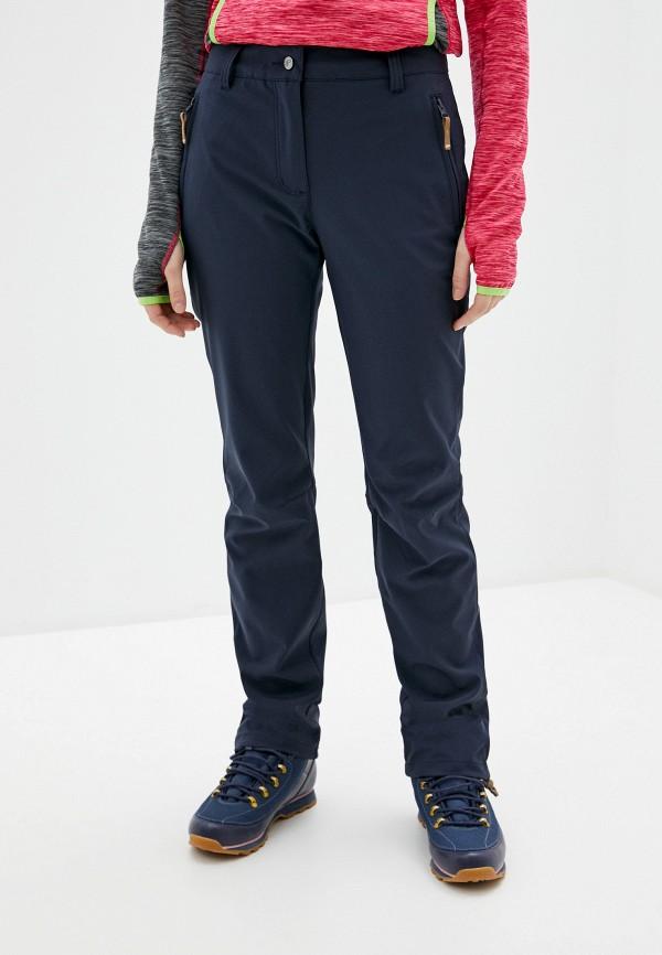 женские брюки icepeak, синие