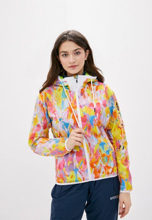 женская ветровка icepeak, разноцветная