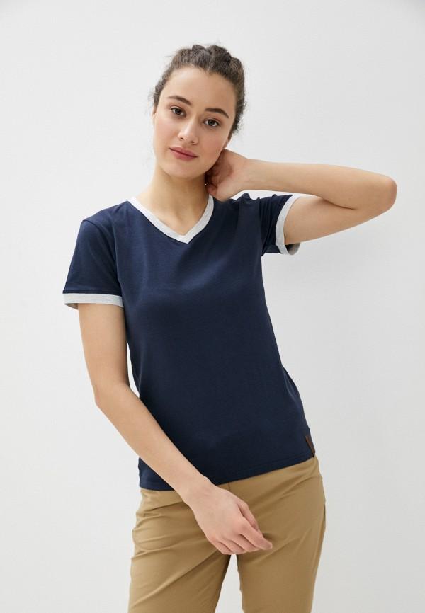 женская спортивные футболка icepeak, синяя