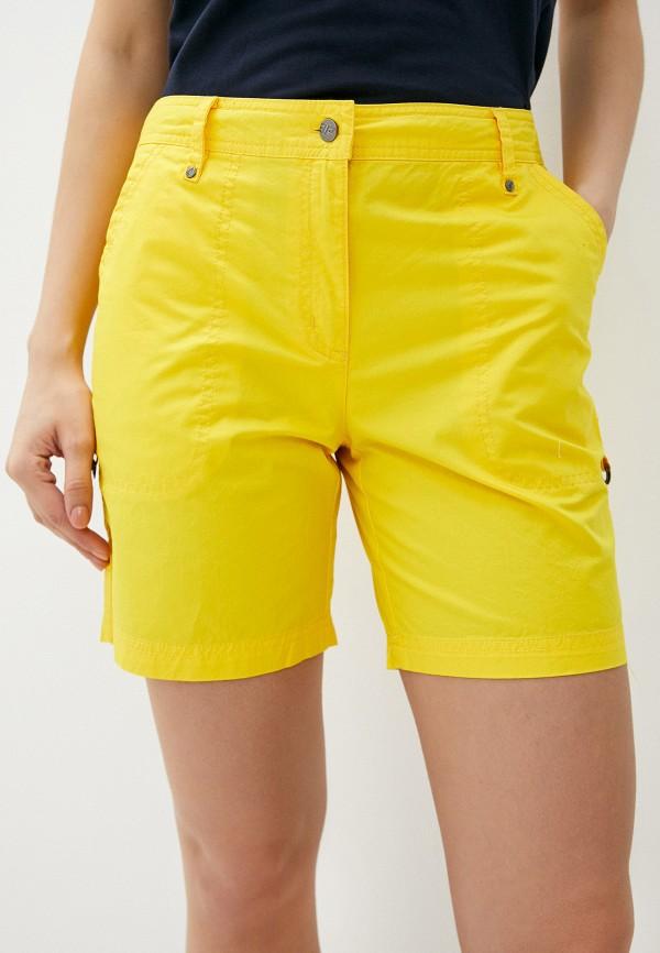 женские шорты icepeak, желтые