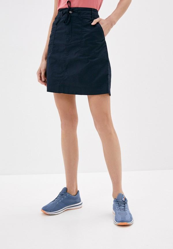 женская спортивные юбка icepeak, синяя