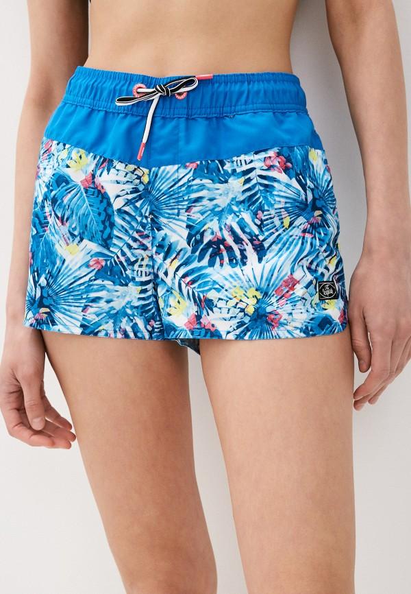 женские спортивные шорты icepeak, синие