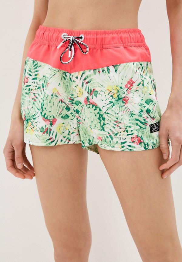 женские спортивные шорты icepeak, зеленые
