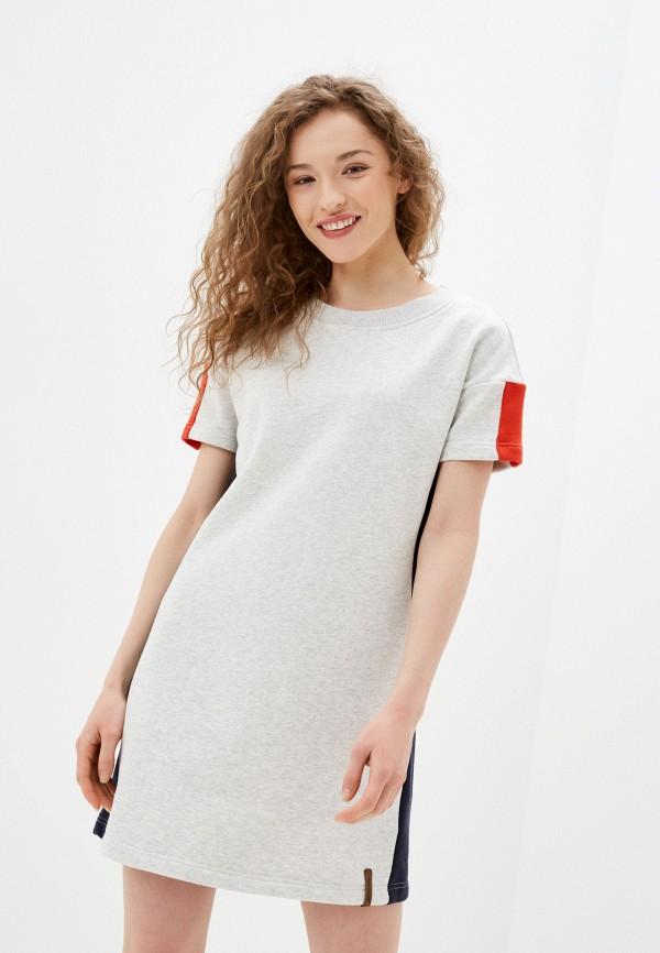 женское спортивные платье icepeak, серое
