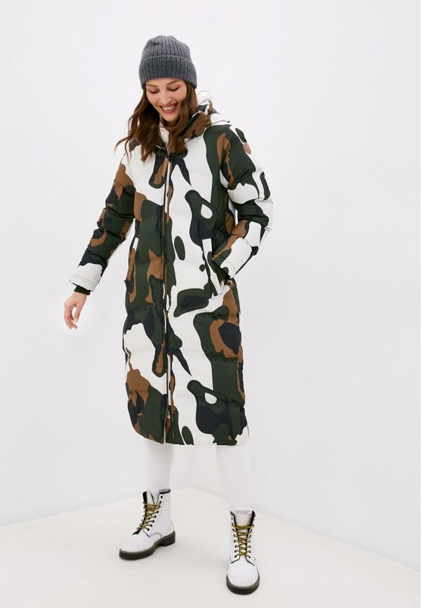 женская куртка icepeak, зеленая