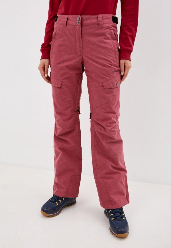 женские брюки icepeak, розовые