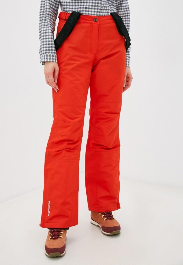 женские брюки icepeak, красные