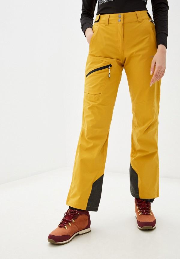 женские брюки icepeak, желтые