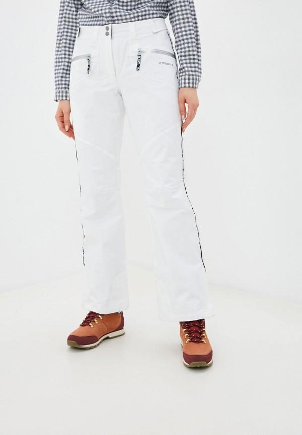 женские брюки icepeak, белые