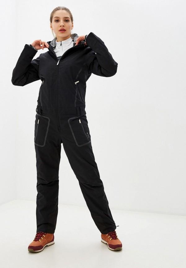 женские комбинезоны и костюмы icepeak, черные