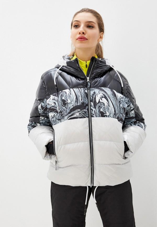 женская куртка icepeak, разноцветная