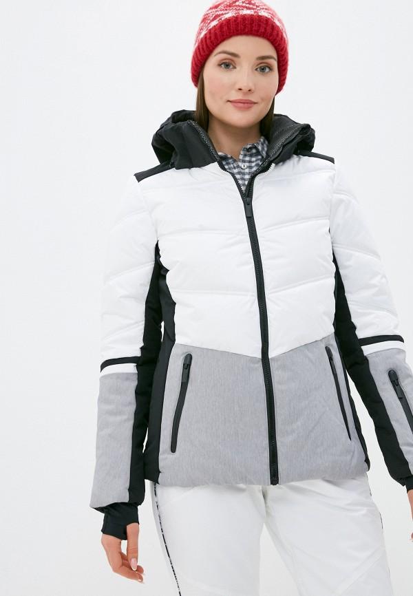 женская куртка icepeak, белая
