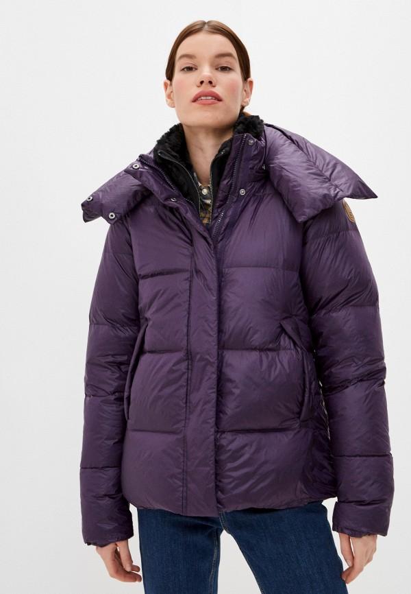 женская куртка icepeak, фиолетовая