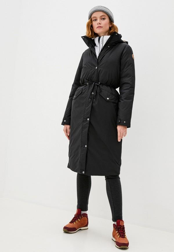 женская куртка icepeak, черная