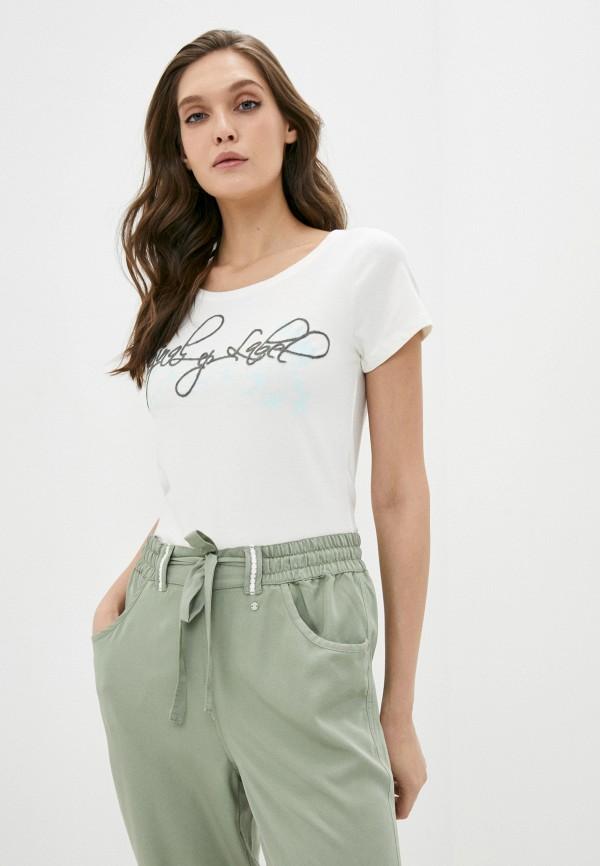 женская спортивные футболка icepeak, белая