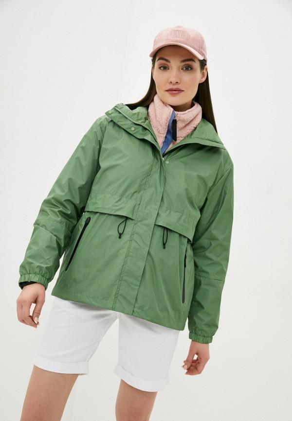 женская ветровка icepeak, зеленая