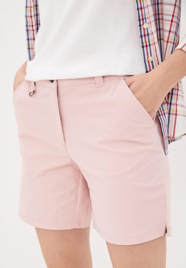 женские спортивные шорты icepeak, розовые