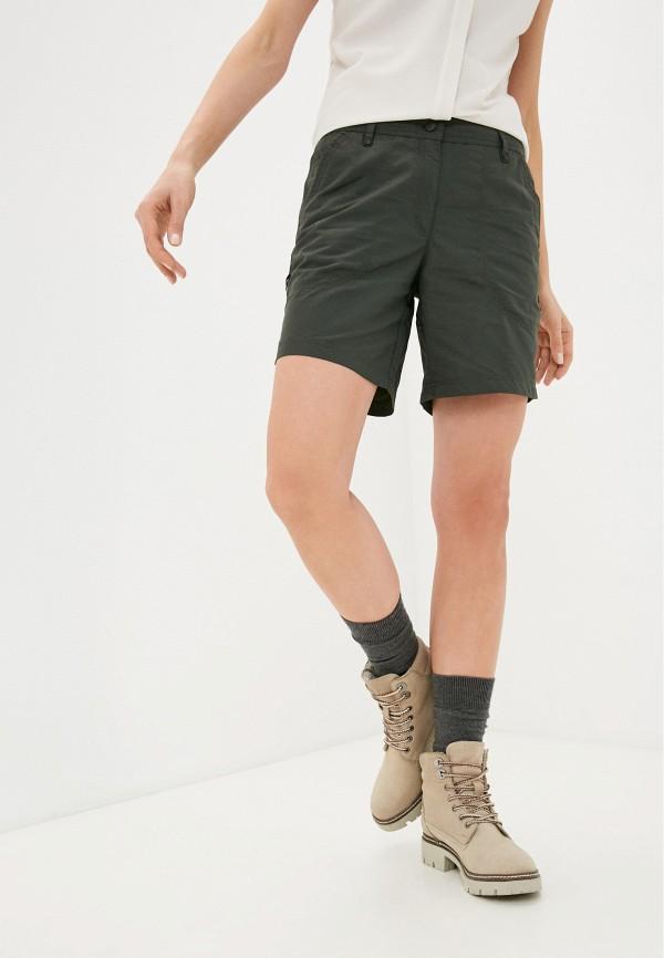 женские повседневные шорты icepeak, хаки