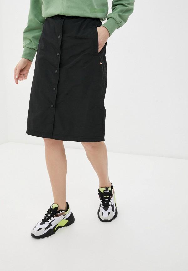 женская спортивные юбка icepeak, черная